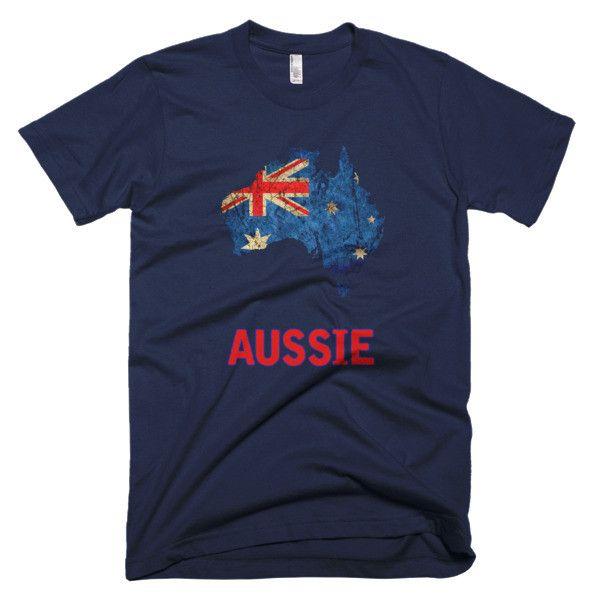 """The Australian """"Aussie"""" Flag T-Shirt"""