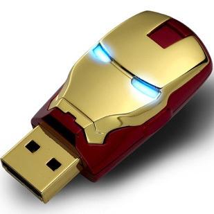 AVENGERS USB Flash Drive Ironman Mask 8GB $48