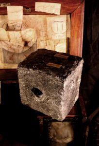Unul dintre cuburile descoperite de Kassat