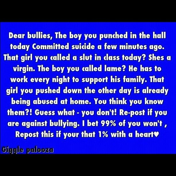 bullying quotes | Quotes | Pinterest