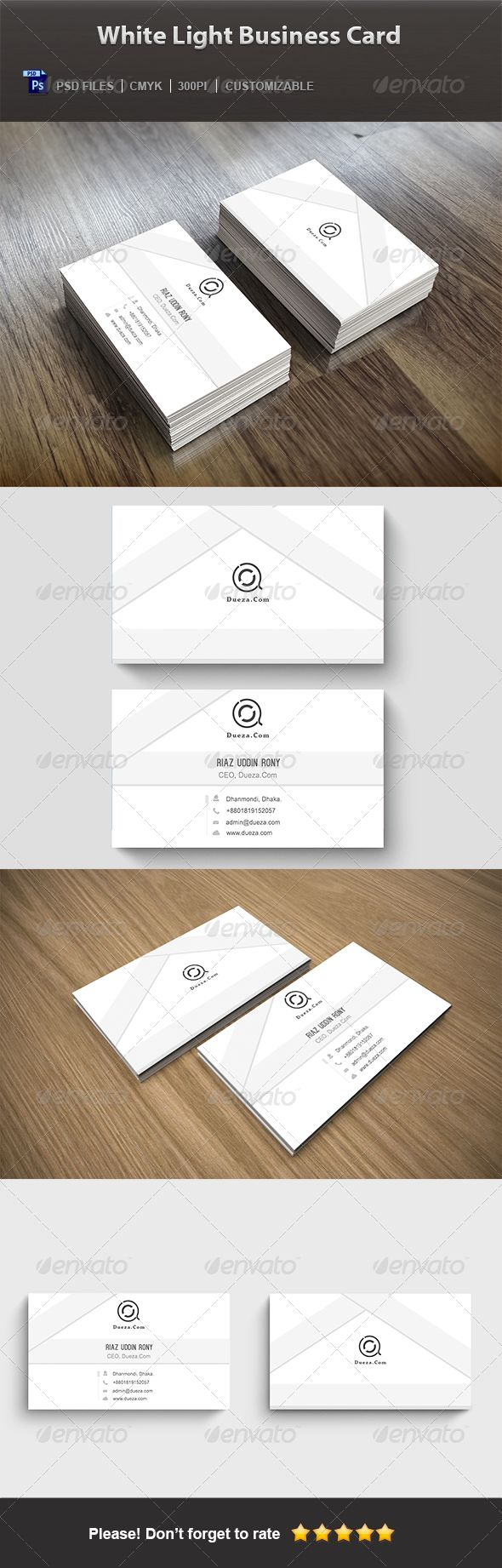 51 best blog for modern creative business card design images on creative business cards white light business card magicingreecefo Choice Image