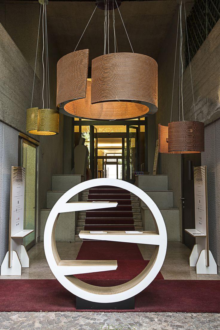 Fuori Salone Milano 2015 - Alcune novità Staygreen, le lampade chiocciola sospese in tre diverse dimensioni www.staygreen.it