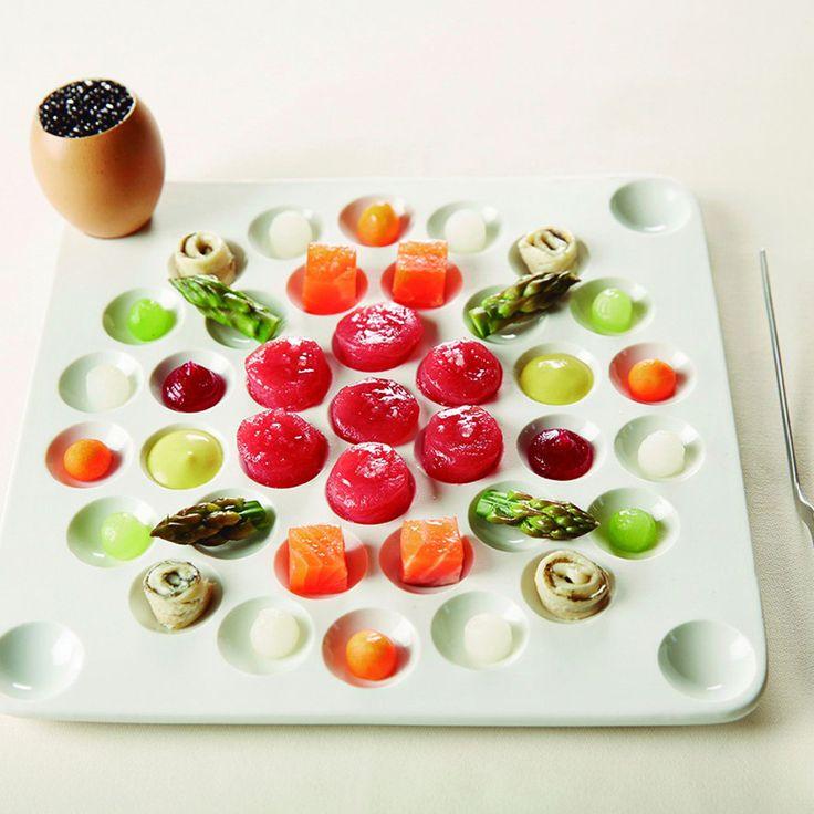 Pordamsa Apiari big tasting tray 22x22cm