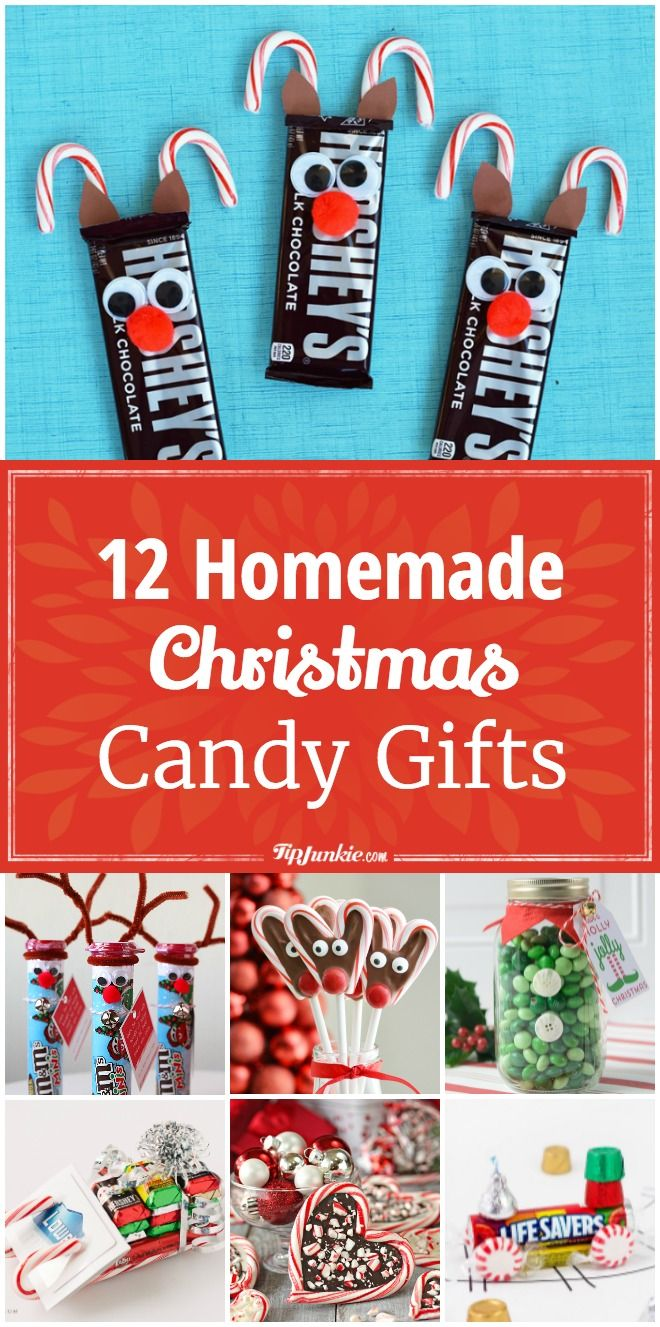 12 Homemade Christmas Candy Gifts [Easy] Christmas candy