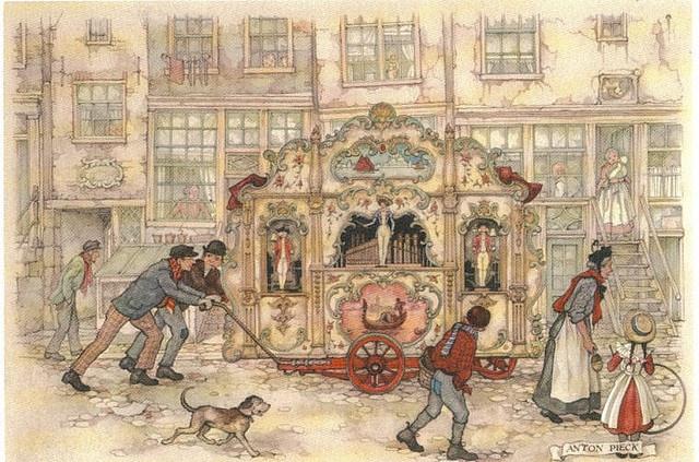 Anton Pieck, Dutch street organ