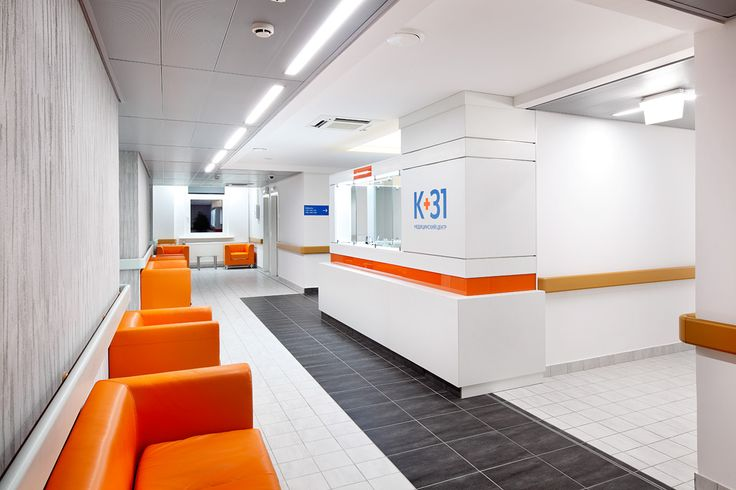 Reception in K+31 clinic