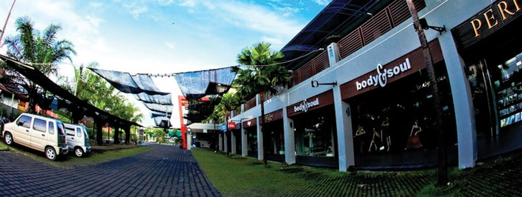 'Seminyak Square' is located in the heart of the very famous  seminyak area. Nice for shopping and a very good place for grabbing some food    http://travelling-bali.com