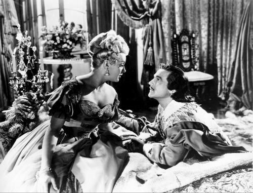 "Lana Turner and Gene Kelly ""The Three Musketeers"" (1948)"