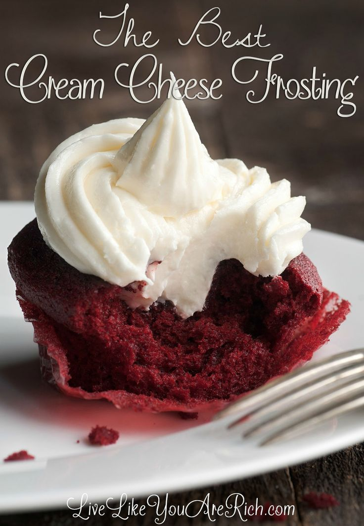 Delicious, Quick, and Time Tested (its been in the family for over 35 years) cream cheese frosting recipe.