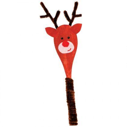 Reindeer Spoon Puppet - CleverPatch