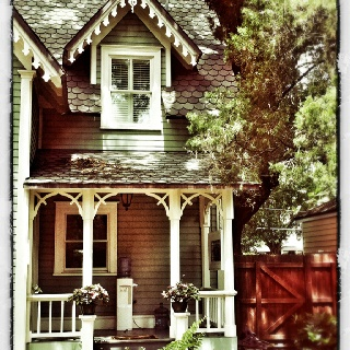33 best ideas about gothic revival victorian on pinterest for Gothic cottage plans