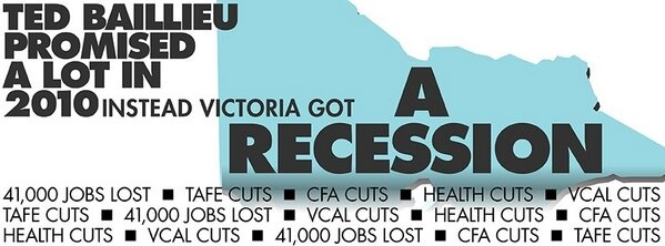 Can't let them in to do this Federally. All the LNP talk about are jobs to go and cuts cuts cuts