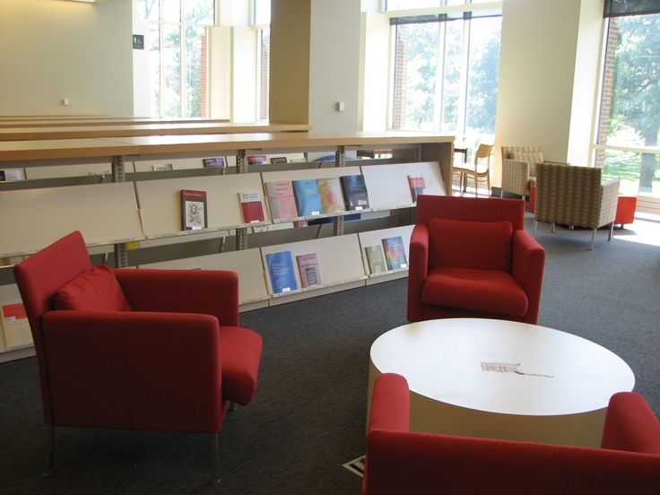 Comfy chairs on wheels at lake forest fbml library ideas pinterest