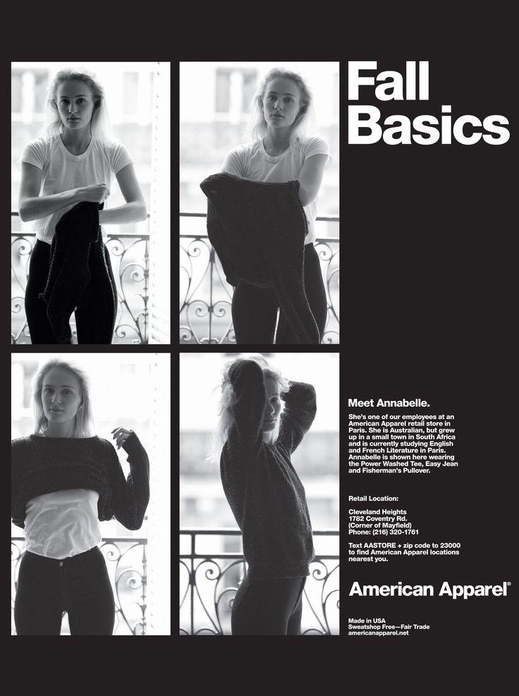 Fall Basics by #AmericanApparel.