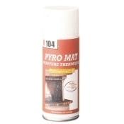 Bombe peinture haute température: noire 400mL