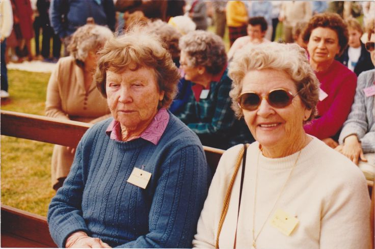 Maude McClure & Betty McGovern, Charlie`s branch.