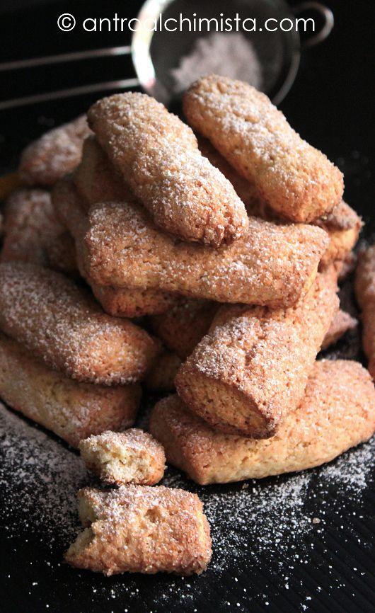 L'Antro dell'Alchimista: Biscotti di Farina di Kamut con Panna e Miele di Castagno - Kamut Cookies with Cream and Chestnut Honey