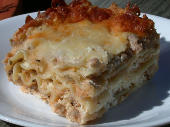 how to make a simple white sauce for lasagne
