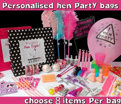 HEN NIGHT PARTY GIFT BAG ** FILLED** - CREATE YOUR OWN | eBay