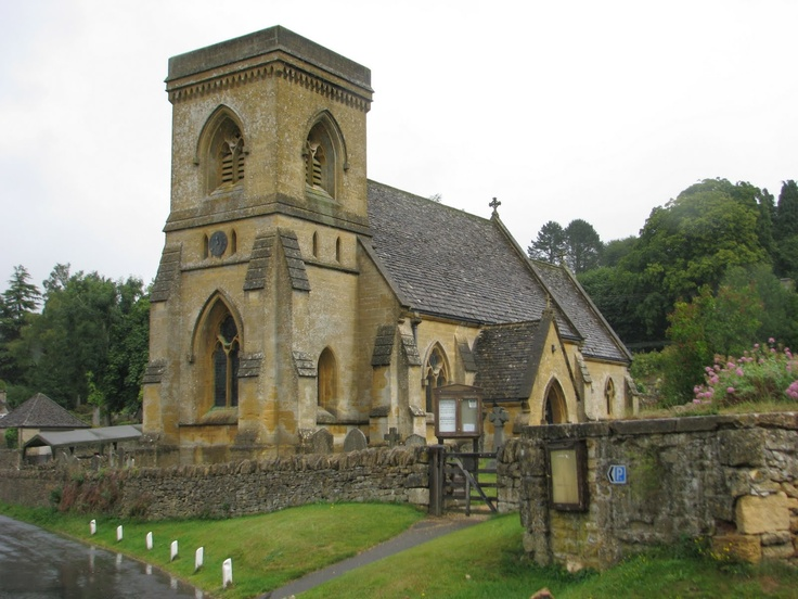 Snowshill, a tiny village with a beautiful church and breathtaking curb appeal...