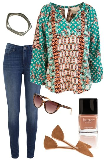 Rusty Rosie Outfit includes Butter London, boho bird, and Billini at Birdsnest Women's Clothing