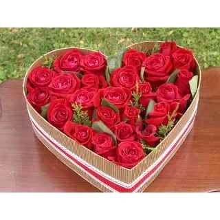 Arreglo Florale Rosas Rojas | Arreglo De Flores Rosas Rojas En Corazón (Otros) a USD 18 en ...