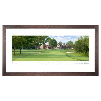 Stonehouse Framed Prestige Edition Wall Art -- Famous Golf Courses - ARONK9P