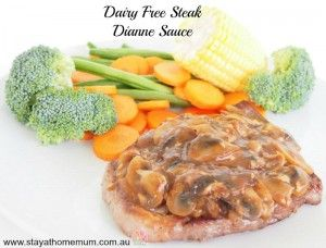 Dairy Free Dianne Sauce | Stay at Home Mum
