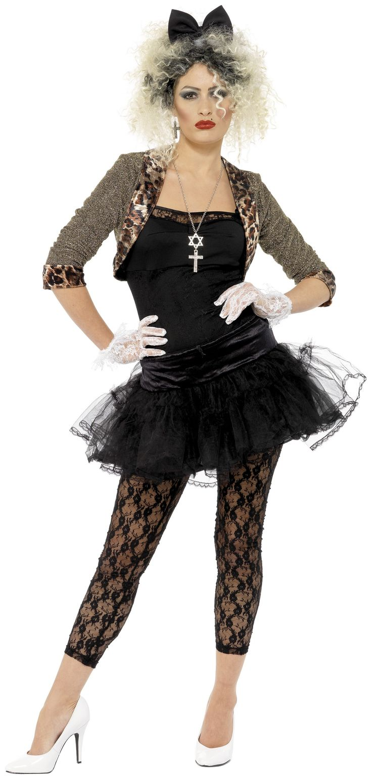 80's costume for woman, Madonna style
