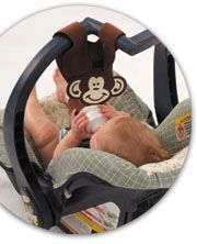 hands free baby bottle holder, baby bottle prop, help with feeding twins and triplets