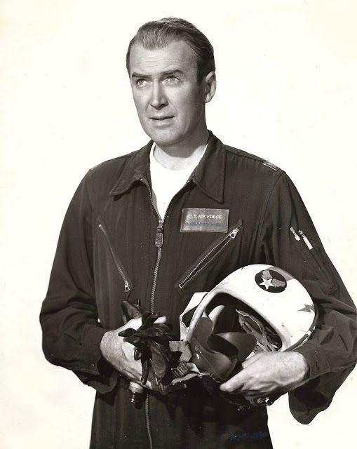 STRATEGIC AIR COMMAND (1954) - James Stewart (pictured) - June Allyson - Directed by - Paramount - Publicity Still.