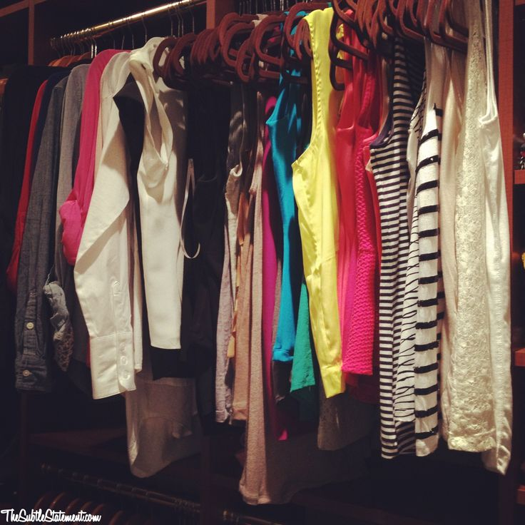 A Glimpse Inside My Closet & Tips for Organization: Closet Tips, Closet Posts