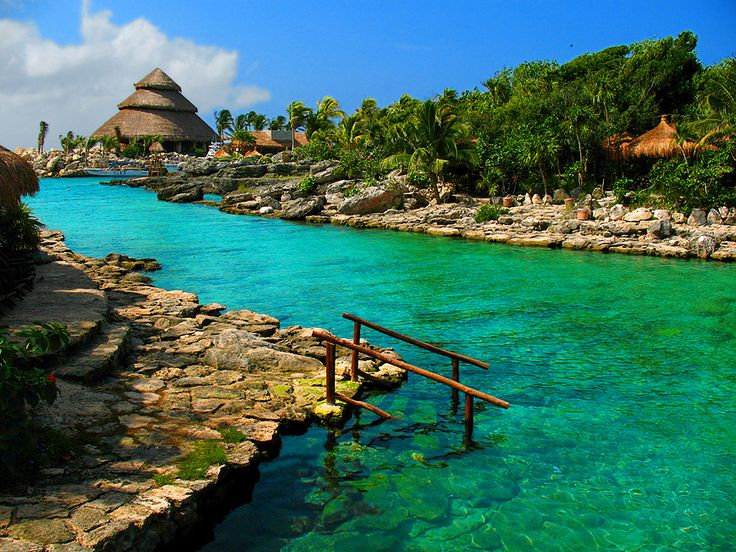 Xcaret Park, Mexico.  I wish we had more time to spend here. There was lots to do and see and wonderful places to relax.
