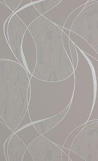 Papier peint gris argenté Enzo
