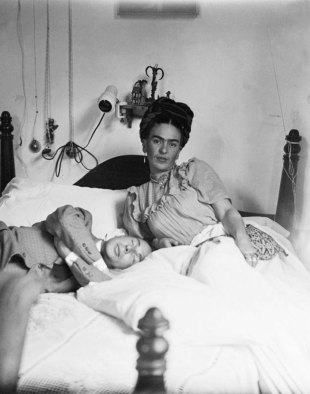 20 frases de amor de Frida Kahlo: Frida Kahlo