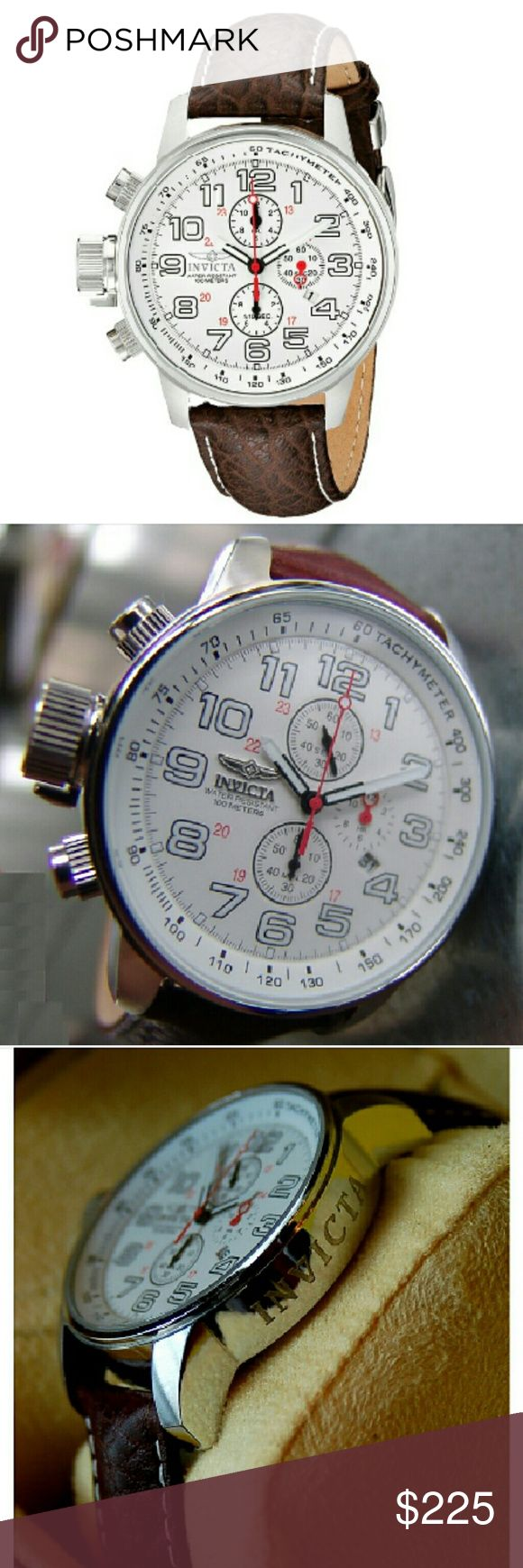 NWT Invicta force Lefty chronograph watch NWT Invicta Men Force Lefty Terra Military Chronograph Watch    FIRM PRICE FIRM PRICE FIRM PRICE   $225.00  . AUTHENTIC WATCH  . AUTHENTIC BOX  . AUTHENTIC MANUAL    SHIPPING?  PLEASE ALLOW FEW BUSINESS DAYS FOR ME TO SHIPPED IT OFF.I HAVE TO GET IT FROM MY WAREHOUSE.    THANK YOU FOR YOUR UNDERSTANDING. Invicta Accessories Watches