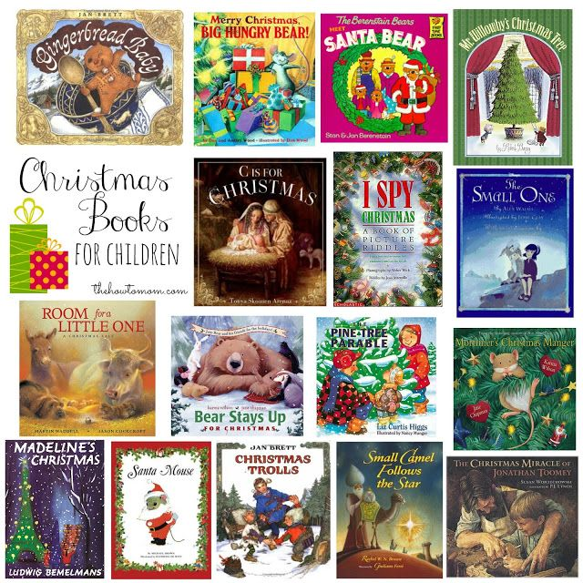 Perfect #Christmas books for children. Over 30 great suggestions via The How To Mom