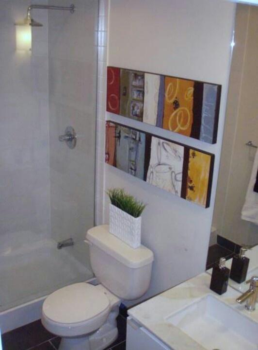 Bathroom Small Toronto Apartment Design Pinterest Bathroom