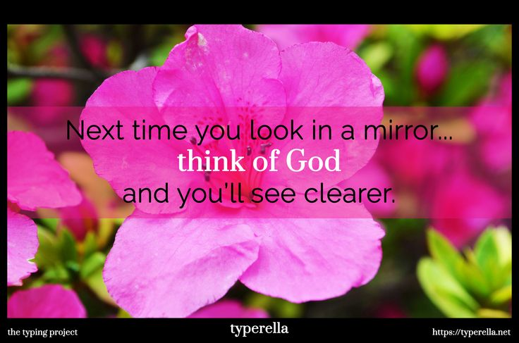 "Don't compare yourself to anyone else. God made you in a certain way, don't question His creation. Do not put His work on trial. You are ""fearfully and wonderfully made"" (Psalm 139:14). Don't waste time or energy complaining about the things you wish you were, instead, praise the Lord by appreciating what you already are."