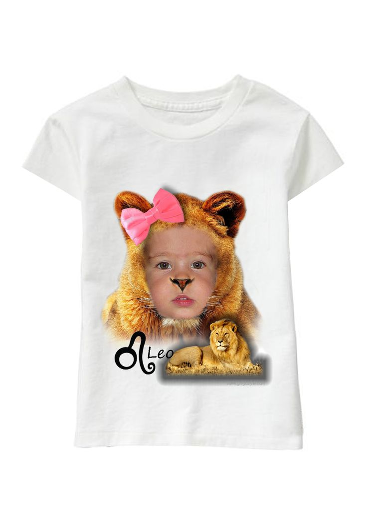 Leo Girl personalized T-shirt www.ghigostyle.com