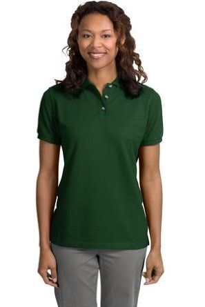 Port Authority Ladies Pique Sport Shirt (L420) Available in 24 Colors XX-Large Dark Green Port Authority. $23.58
