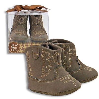 Baby boy cowboy boots in gift box.  $21.95 at www.DirtRoadDivaBoutique.com