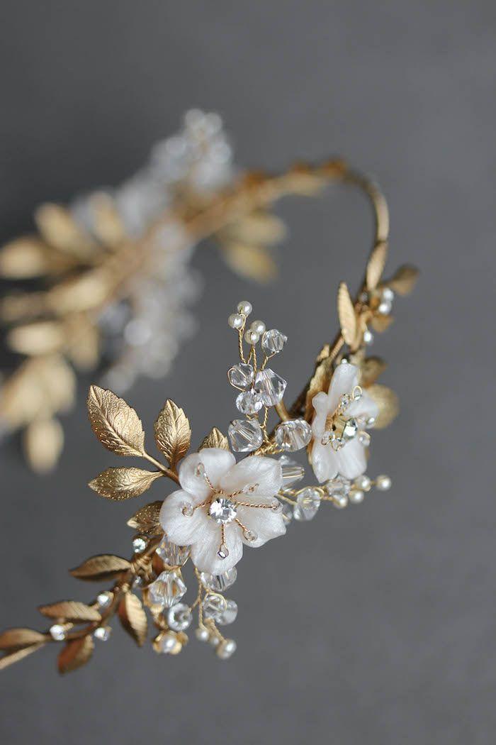 BESPOKE for Justyna_Dita Coco wedding crown headpiece 3