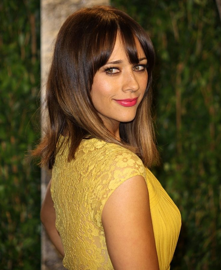 Rashida Jones-gorgeous eyes.  Not as gorgeous as mine, but still nice.