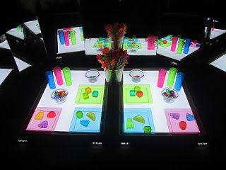 actividades infantiles con mesa de luz - Buscar con Google