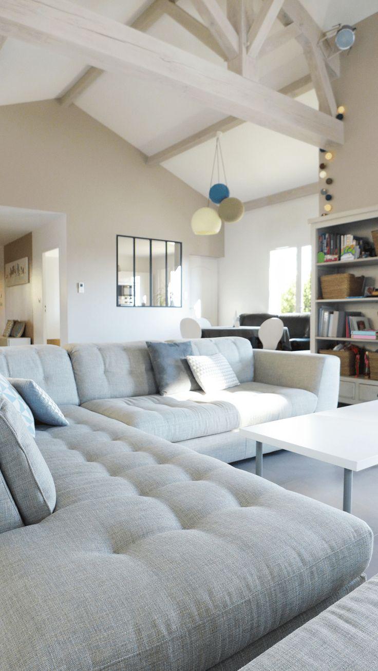 les 37 meilleures images du tableau salon sur pinterest d co salon future maison et salle de. Black Bedroom Furniture Sets. Home Design Ideas