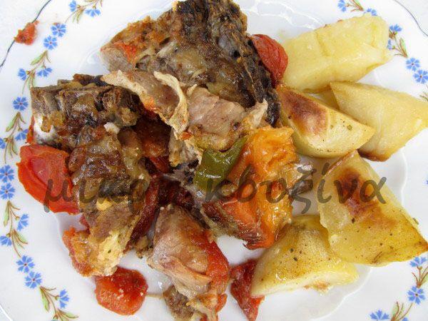 μικρή κουζίνα: Αρνάκι ή κατσικάκι κλέφτικο