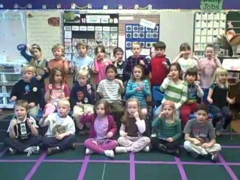 Kindergarteners Perform ABC Phonics: Sing, Sign, and Read! - YouTube