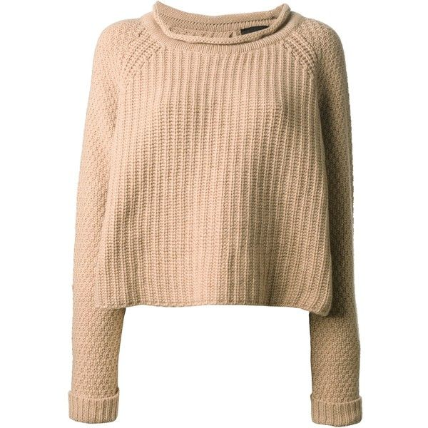 JO NO FUI round neck sweater found on Polyvore