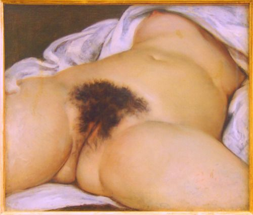 The Origin of the World by Gustave Courbet (1866) #realism #art...